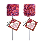 Giant Valentine Sprinkle Marshmallows: 12 Pack