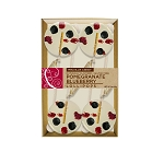 Blueberry & Pomegranate Gourmet Lollipops: 3 Kraft Gift Sets