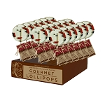 Goji Cacao Gourmet  Lollipops: 24 Pack Display