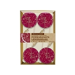 Pomegranate Lemongrass Gourmet  Lollipops: 3 Kraft Gift Sets