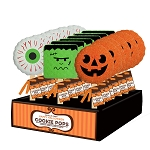 Halloween Cookie Pop Assortment: 18 Pack Display