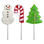 Holiday Assortment Lollipops: 12 Pack