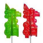 Holiday Train Lollipops: 12 Pack