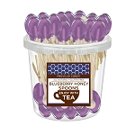 Blueberry Honey Spoons: 50 Pack Bucket