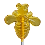Honey Bee Lollipops: 24 Pack
