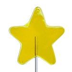 Large Star Lollipops: 24 Pack