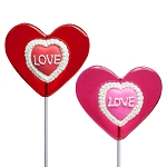Love Lace Iced Lollipops: 24 Pack