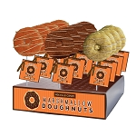 Marshmallow Harvest Doughnut Lollipops: 12 Pack Display