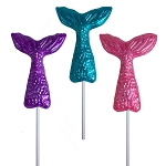 Mermaid Tail Lollipop: 12 Pack
