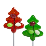Mini Jellybean Tree Lollipops: 12 Pack