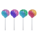 Glitter Swirl Seashell Lollipops: 12 Pack
