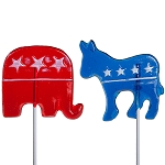 Political Lollipop Assortment: 24 Pack