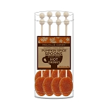 Pumpkin Spice Coffee Spoons: (3) 8PK Acetate Cylinders