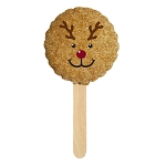 Reindeer Cookie Pop : 24 Pack