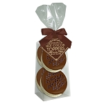 Double Chocolate Marshmallow Toppers: (3) 4PK GUSSET BAGS
