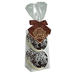 Dark Chocolate Coconut Marshmallow Toppers: (3) 4pk Gusset Bags