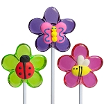 Royal Iced Spring Bug Lollipops: 12 Pack