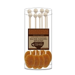 Salted Caramel Coffee Spoons: (3) 8PK Acetate Cylinders