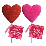 Sanded Crispy Rice Hearts: 12 Pack