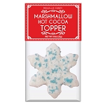 Blue Crystal Sugar Marshmallow Toppers: (12) 1 Pack Bag