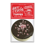 Dark Chocolate Peppermint Marshmallow Toppers: (12) 1 Pack Bags