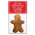 Gingerbread Man Marshmallow Toppers: (12) 1 Pack Bags