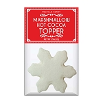 Snowflake Marshmallow Toppers: (12) 1 Pack Bags