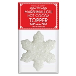 Crystal Snowflake Marshmallow Toppers: (12) 1 Pack Bag