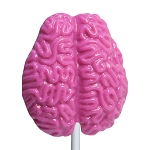 Small Brain Lollipops: 24 Pack