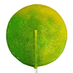 Giant Super Sour Lollipops: 12 Pack