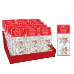 Peppermint Snowflake Marshmallow Toppers: (18) 2 Pack Caddy