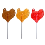 Turkey Assortment Lollipops: 12 Pack