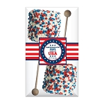 Giant Patriotic Star Marshmallows: 3 Acetate Gift Sets