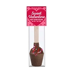 Valentine Hot Chocolate Spoons: 12 Pack
