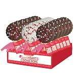 Valentine Cookie Pops: 18 Pack Display