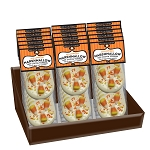 Halloween white chocolate Marshmallow Toppers: (18) 2 Pack Caddy