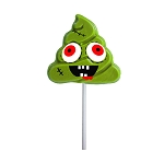 Zombie Poop Lollipops: 24 Pack