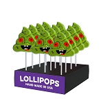 Zombie Poop Lollipops: 24 Pack Display