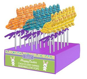 Spring Bunny Marshmallow Assortment: 12 Pack Display