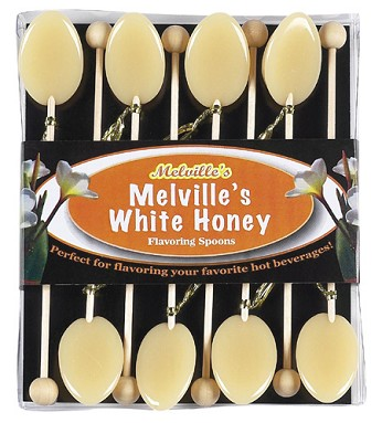 White Honey Spoons</br>3 Gift Sets