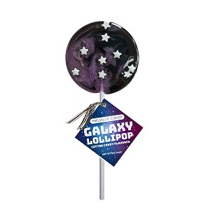 Galaxy Circle Lollipops: 12 Pack