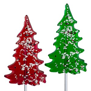 Icon Peppermint Tree Lollipops: 24 Pack