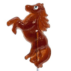 Jumping Horse Lollipops: 12 Pack