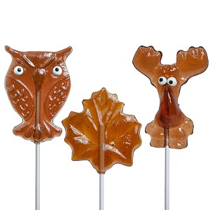 Maple Lollipop Assortment: 12 Pack