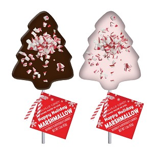 Marshmallow Peppermint Trees : 12 Pack