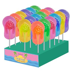 Flip Flop Lollipops: 24 Pack Display