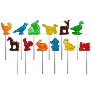 Old Tyme 3D Lollipop Assortment: 12 Pack