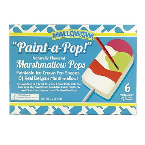 Paint-a-Pop Marshmallow Pops: 1 Pack