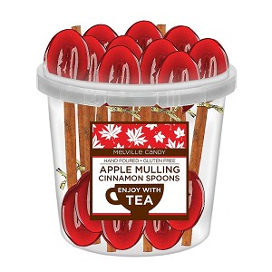 Apple Mulling Spice Cinnamon Spoons: 50 Pack Bucket