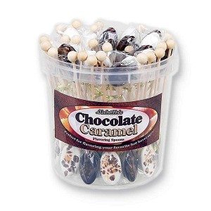 Chocolate Caramel Spoons</br>50 Pack Bucket